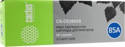 Картридж Cactus CE285AS (CS-CE285AS) для принтеров HP LaserJet P1102/ P1102W/ M1130/ M1132 черный 1600 страниц