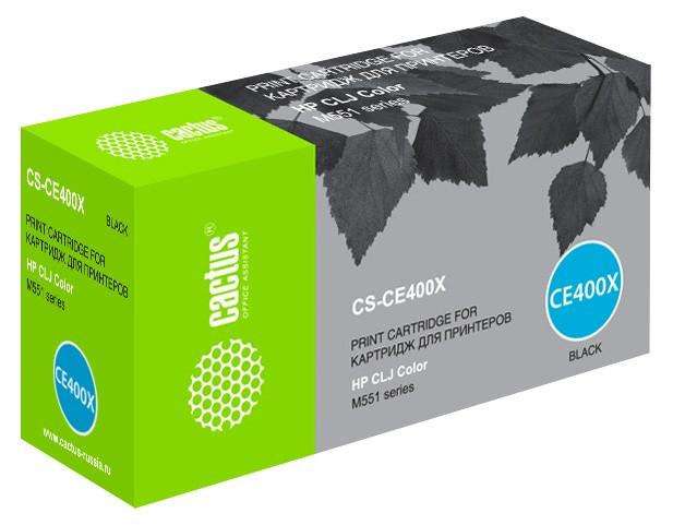 Картридж лазерный Cactus CS-CE400X купить, сравнить цены и характеристики. Доставка по всей России.